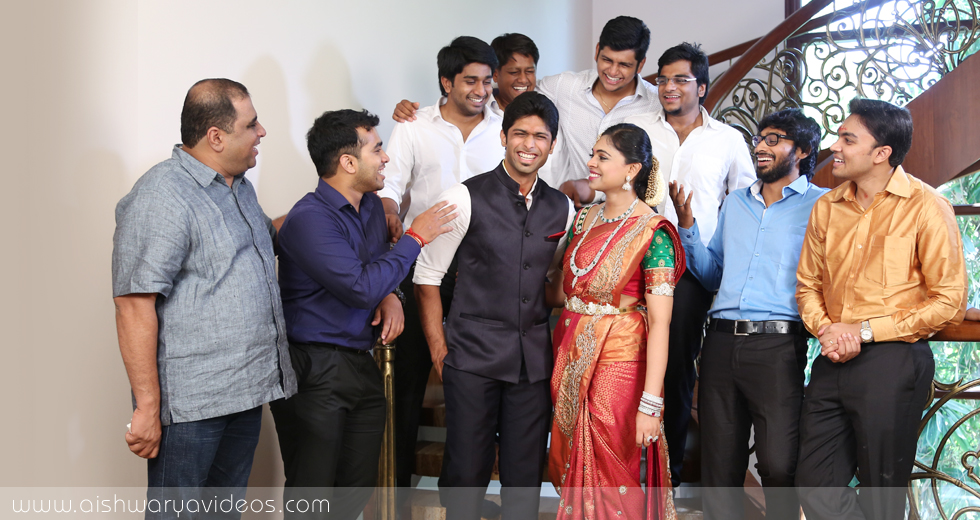 Sundeep & Dhivya - professional marriage photographer - Aishwarya Photos & Videos