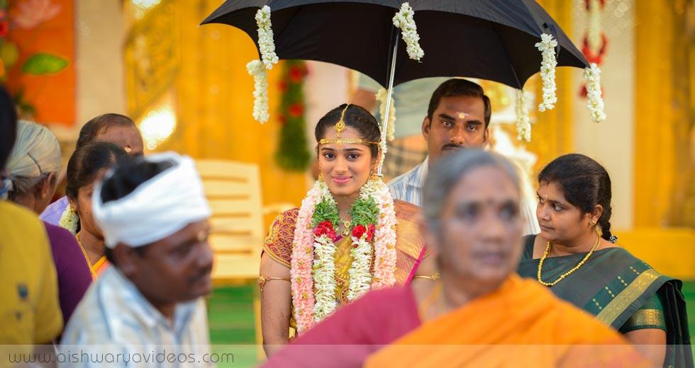 Pradeep & Pavithra - wedding event photographer - Aishwarya Photos & Videos
