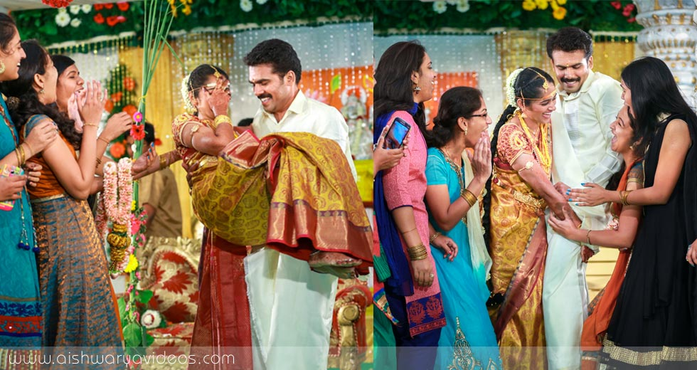 Pradeep & Pavithra - wedding photography professional - Aishwarya Photos & Videos
