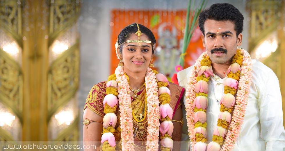 Pradeep & Pavithra - top wedding photographers - Aishwarya Photos & Videos