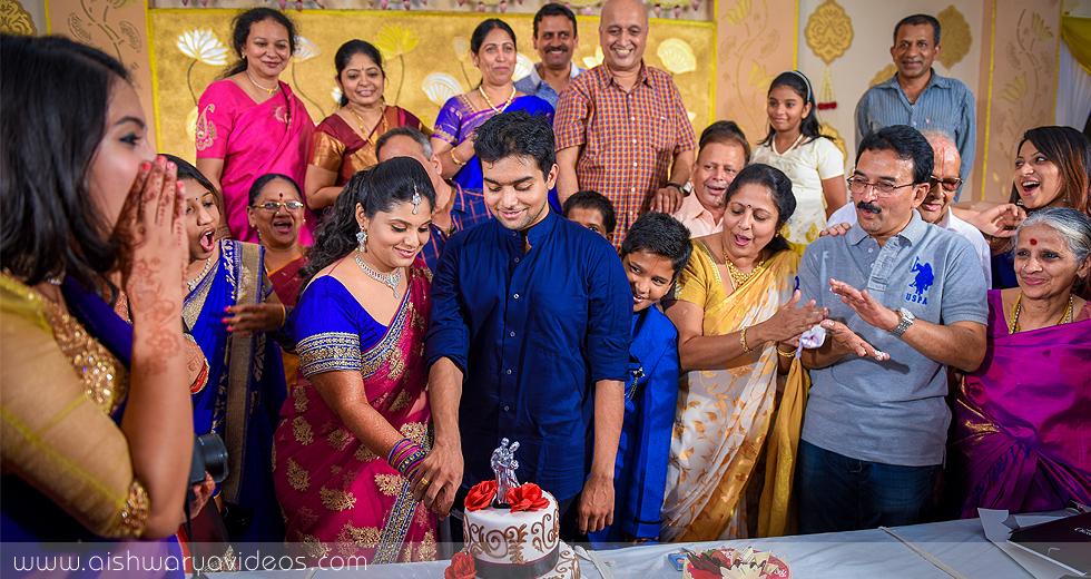 Srinath & Nandhu - professional marriage photographer - Aishwarya Photos & Videos