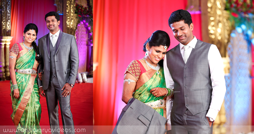 Karthikeyan & Ramyanivedhitha - candid wedding photographer - Aishwarya Photos & Videos