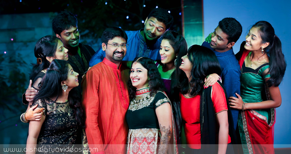 Vishnu & Sowmya - wedding photography professional - Aishwarya Photos & Videos