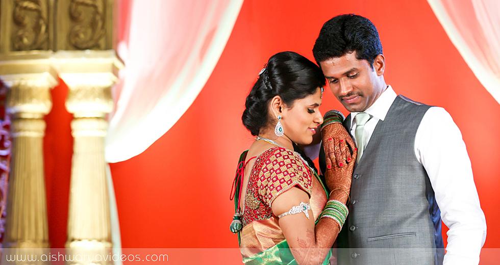 Karthikeyan & Ramyanivedhitha - wedding event photographer - Aishwarya Photos & Videos