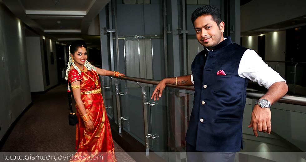 Hariharavarman & Priyadarshini - Engagement Photographer - Aishwarya Photos & Videos