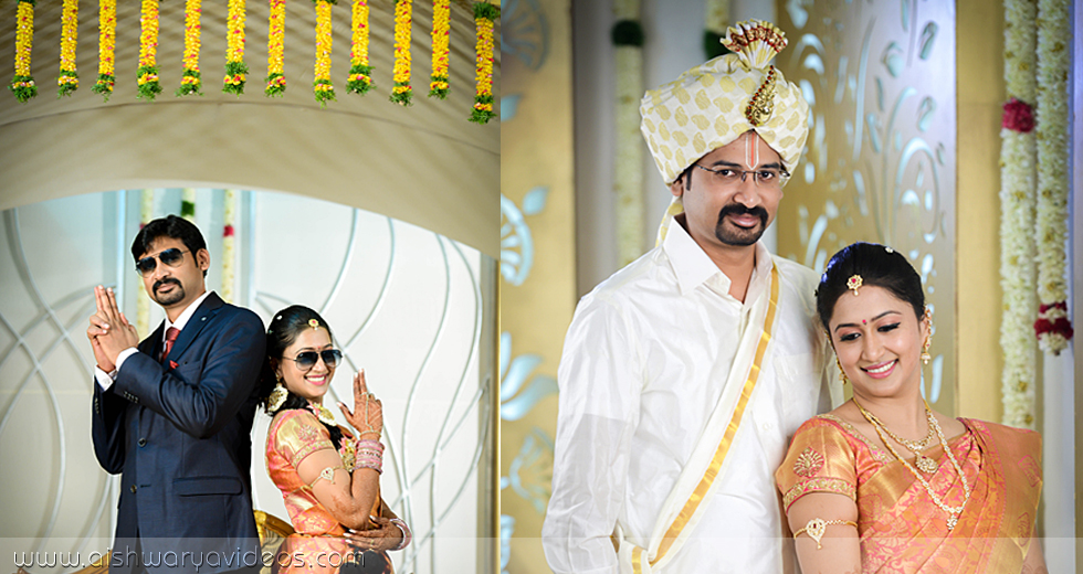 Vishnu & Sowmya - wedding event photographer - Aishwarya Photos & Videos