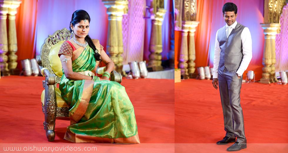 Karthikeyan & Ramyanivedhitha - wedding photography professional - Aishwarya Photos & Videos