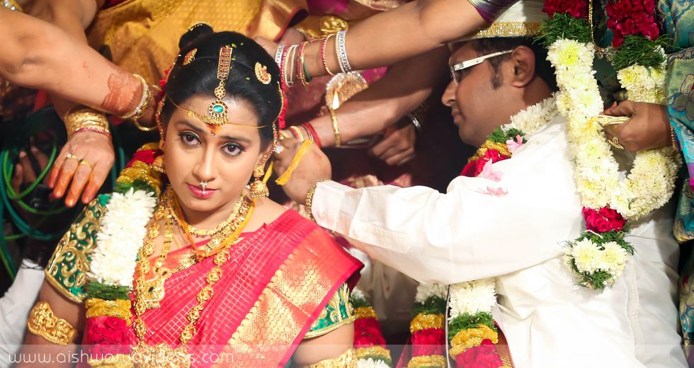 Rajesh Kumar & Akila - professional marriage photographer - Aishwarya Photos & Videos