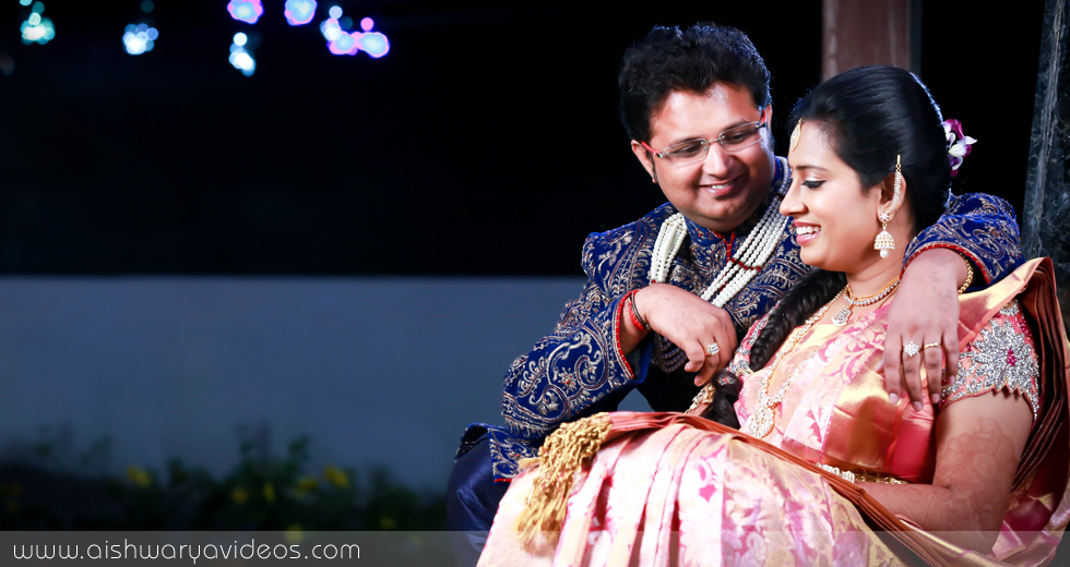 Rajesh Kumar & Akila - wedding portrait photographers - Aishwarya Photos & Videos