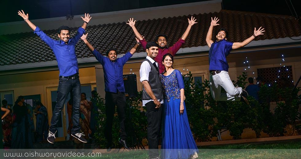 Abhinaya's Mehandi Evening top wedding photographers- Aishwarya Photos & Videos