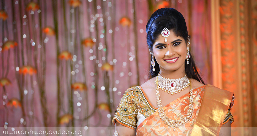 Cibi Vishnu & Nivedha - professional marriage photographer - Aishwarya Photos & Videos