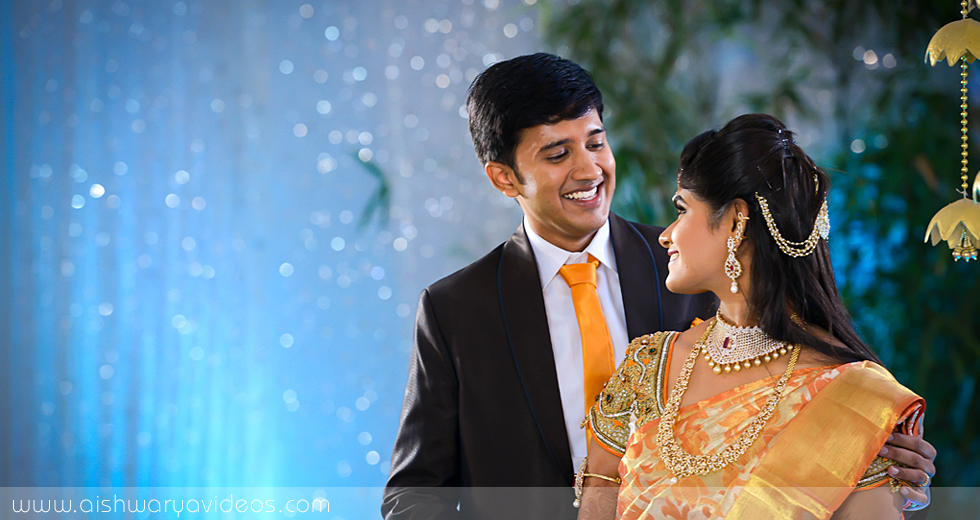 Cibi Vishnu & Nivedha - top wedding photographers - Aishwarya Photos & Videos