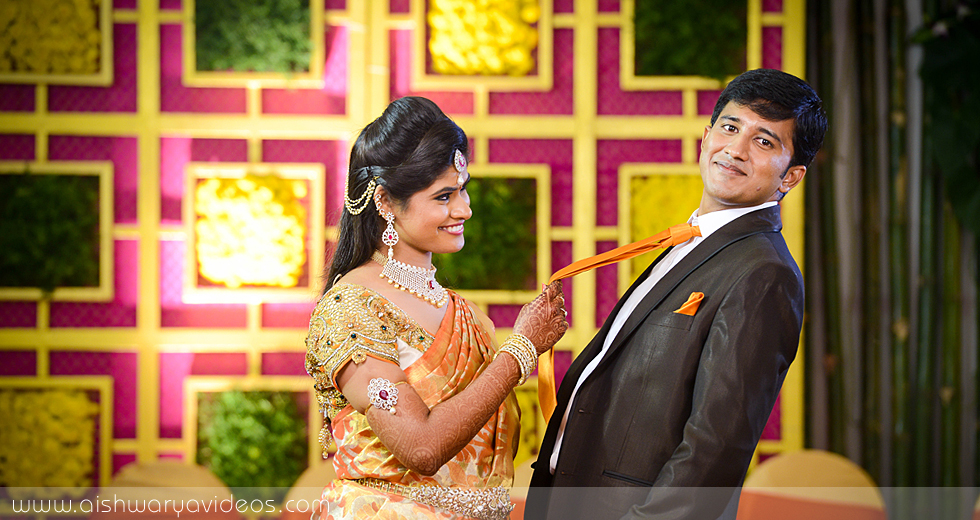 Cibi Vishnu & Nivedha - candid wedding photographer - Aishwarya Photos & Videos