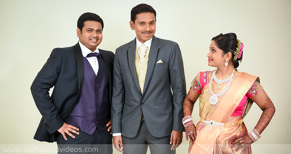 Balamurugan & Kaavyaa - wedding videographers - Aishwarya Photos & Videos