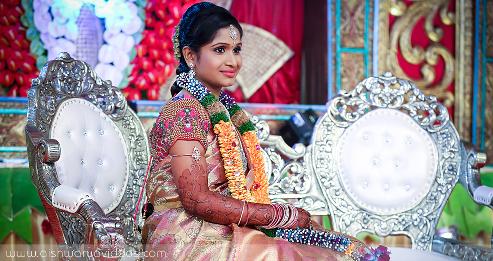 Balamurugan & Kaavyaa - professional marriage photographer - Aishwarya Photos & Videos