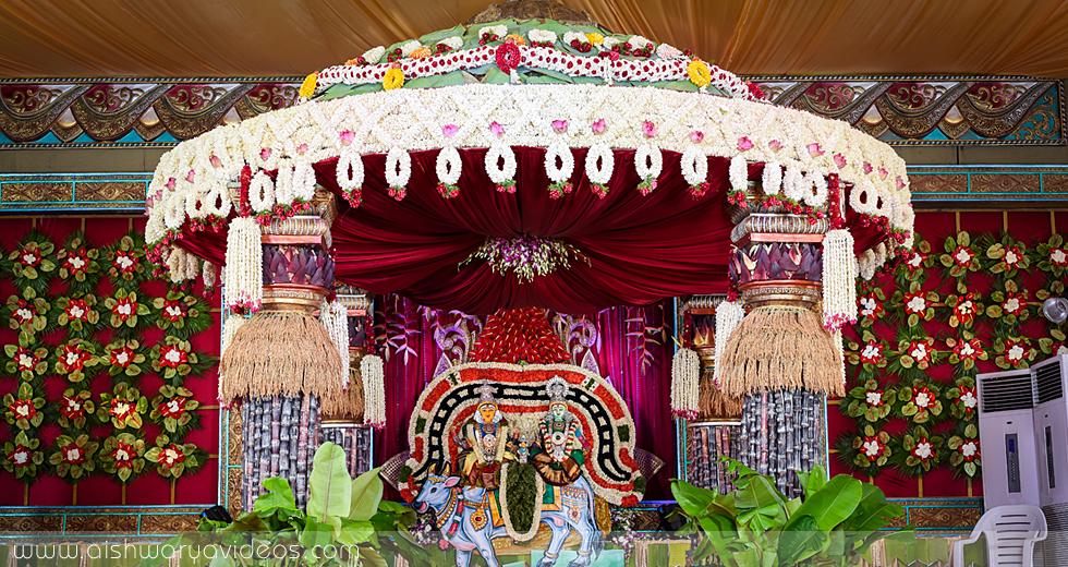Balamurugan & Kaavyaa - professional marriage photographer - Aishwarya Photos & Videos