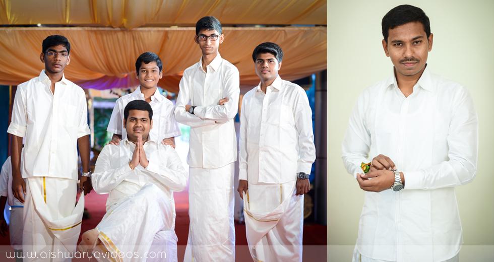 Balamurugan & Kaavyaa - wedding portrait photographers - Aishwarya Photos & Videos