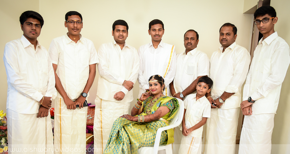Balamurugan & Kaavyaa - wedding event photographer - Aishwarya Photos & Videos