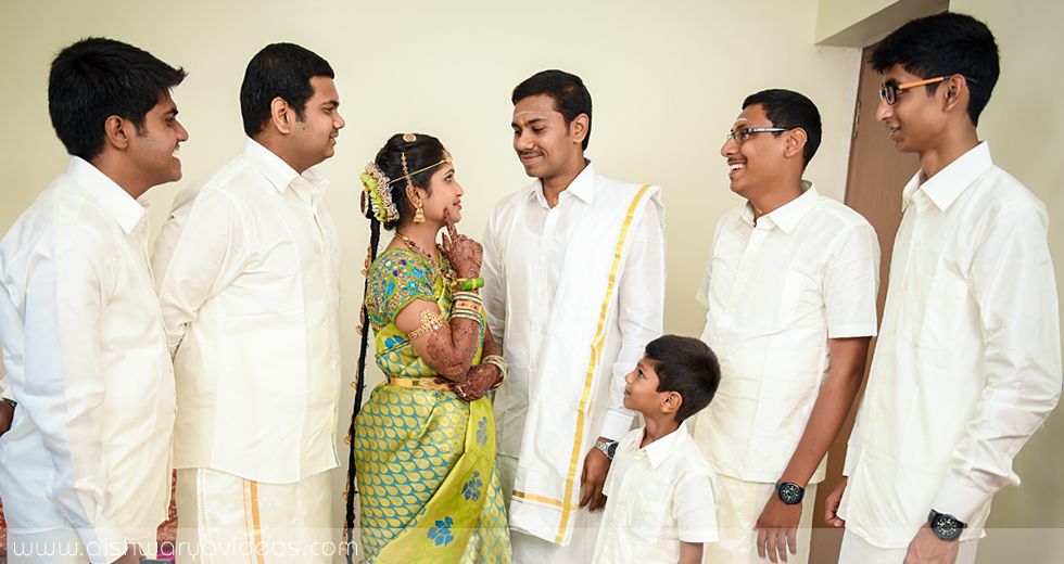 Balamurugan & Kaavyaa - wedding photographer - Aishwarya Photos & Videos