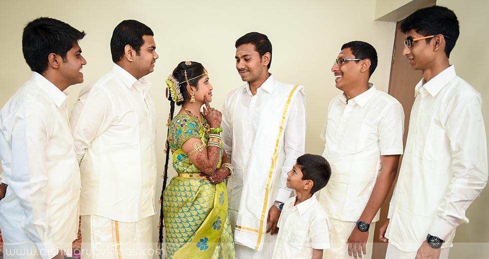 Balamurugan & Kaavyaa - wedding photographer - Aishwarya Photos & Videos