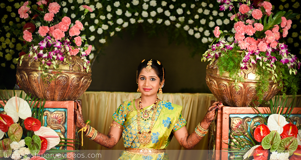 Balamurugan & Kaavyaa - wedding photography professional - Aishwarya Photos & Videos