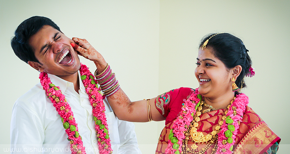 Karthik & Dhivyapriya - wedding videographers - Aishwarya Photos & Videos