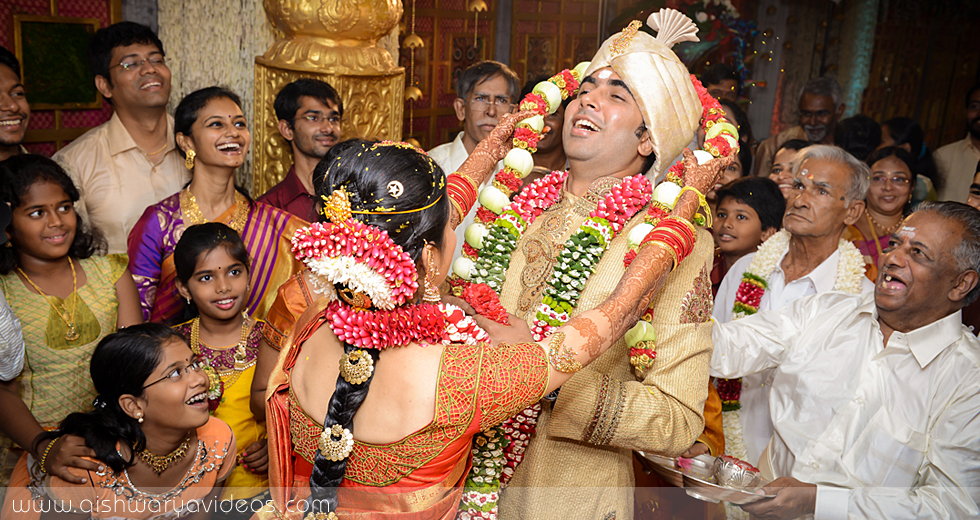 Siva & Shruthi - professional marriage photographer - Aishwarya Photos & Videos