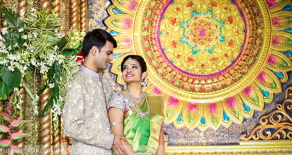 Shriramu & Nivetha - wedding portrait photographers - Aishwarya Photos & Videos