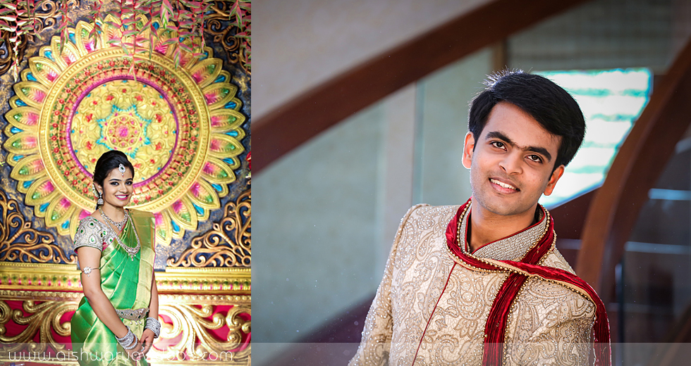 Shriramu & Nivetha - professional marriage photographer - Aishwarya Photos & Videos