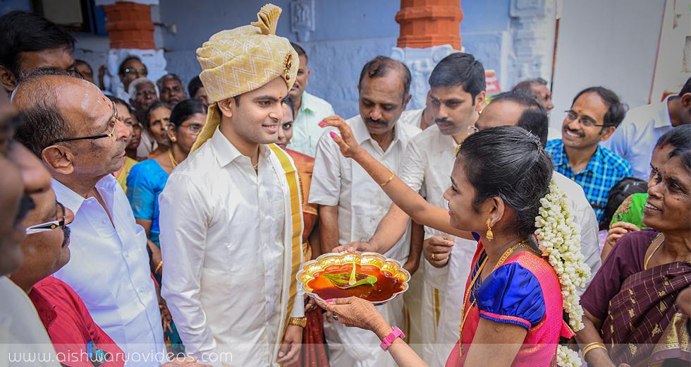 Shriramu & Nivetha - wedding videographers - Aishwarya Photos & Videos