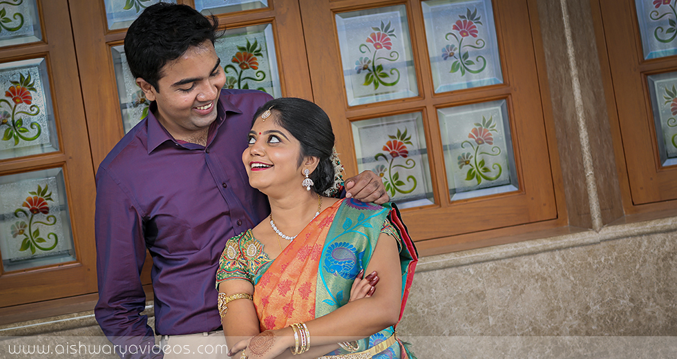 Vinod & Suhashini - wedding photography professional - Aishwarya Photos & Videos