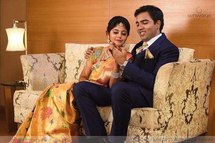 Vinoth & Sugasini - wedding portrait photographers - Aishwarya Photos & Videos