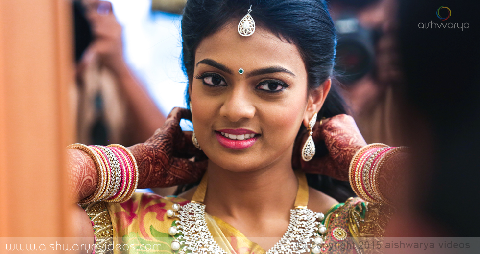 Siddharth & Sangavi - candid wedding photographer - Aishwarya Photos & Videos