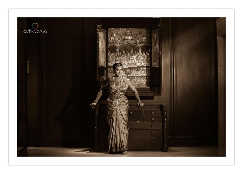 Vishal & Sri Varshini - black and white wedding photographer - Aishwarya Photos & Videos