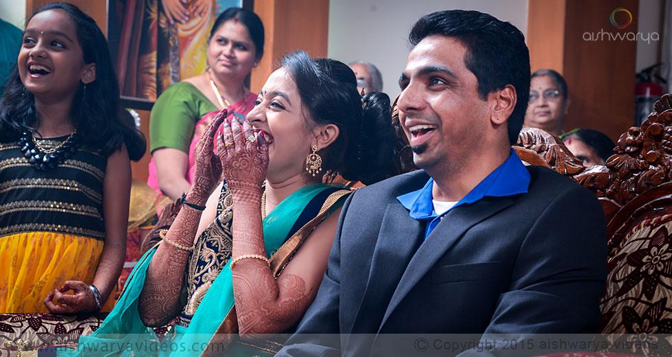Rajagopal & Nivedha - candid wedding photographer - Aishwarya Photos & Videos