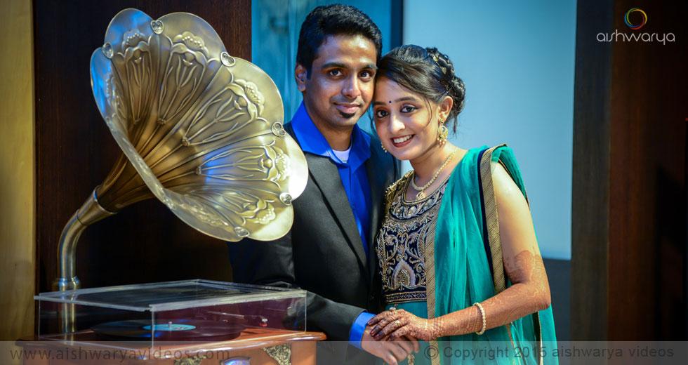 Rajagopal & Nivedha - wedding videographers - Aishwarya Photos & Videos