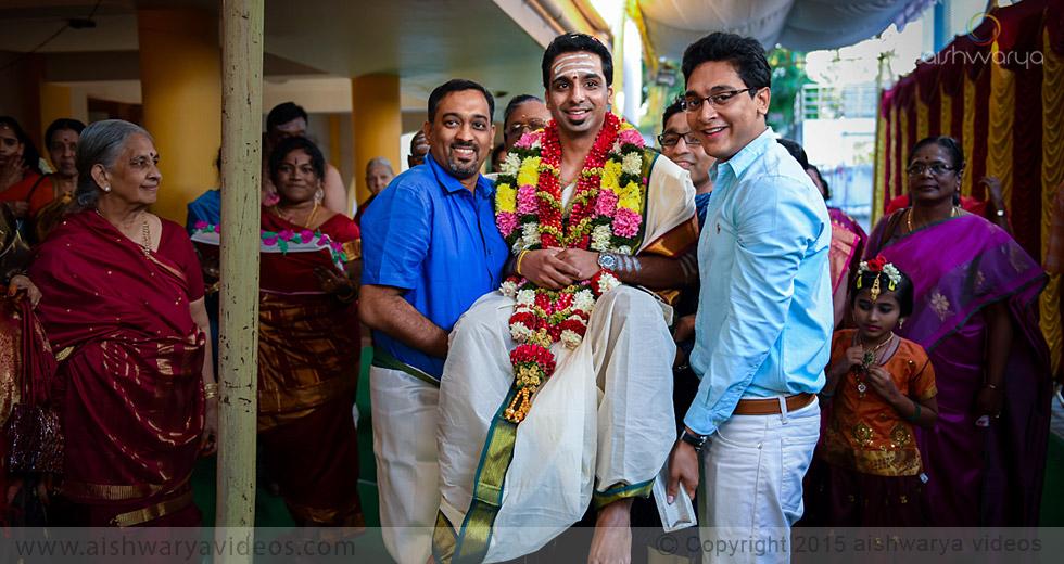 Rajagopal & Nivedha - top wedding photographers - Aishwarya Photos & Videos