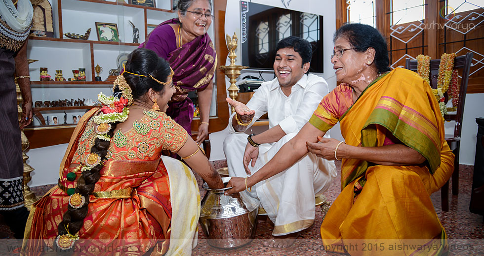Sundarram & Sathya - wedding event photographer - Aishwarya Photos & Videos