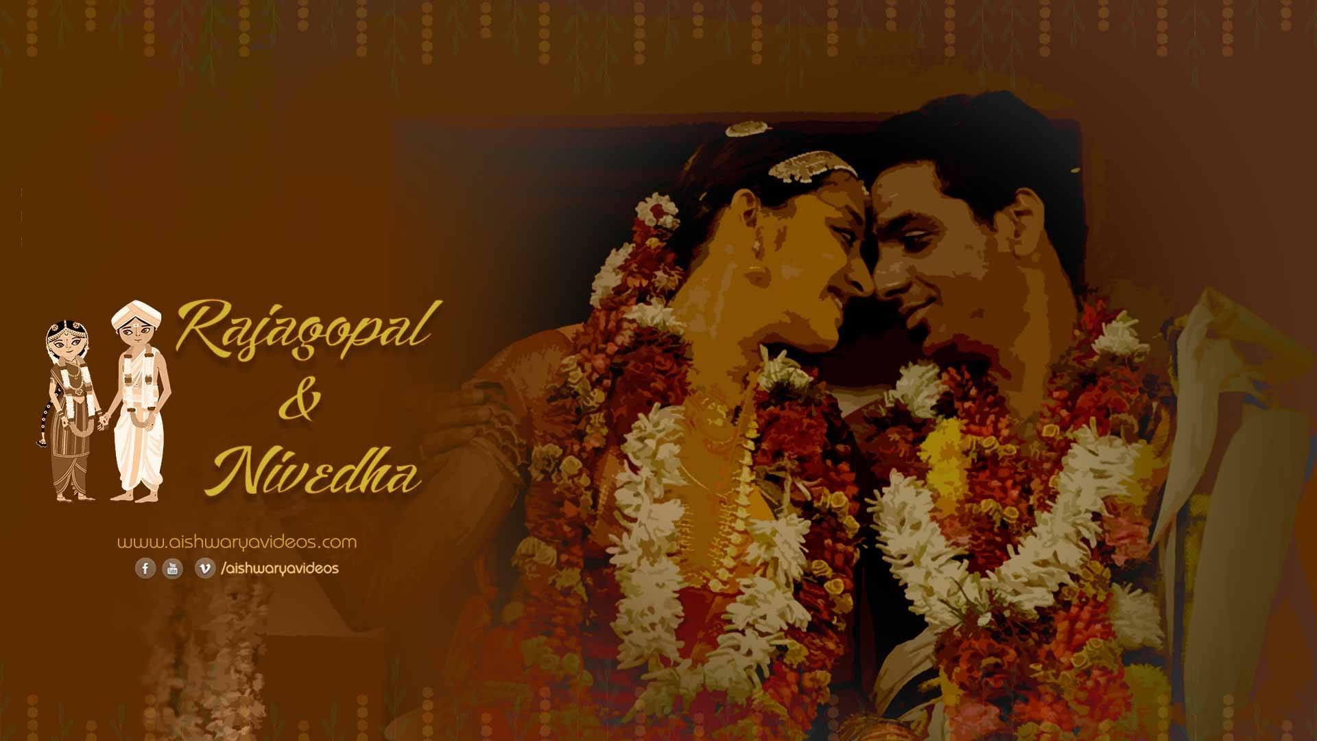 Rajagopal & Nivedha – Candid Wedding Video