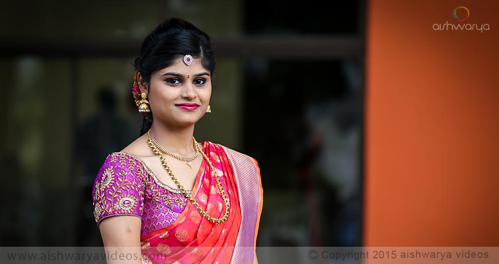 Baba Prasad & Loga Pritika - professional marriage photographer - Aishwarya Photos & Videos